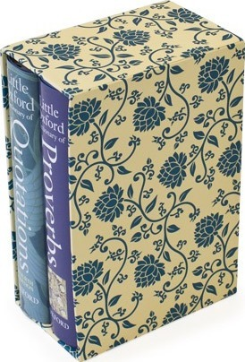 Little Oxford Gift Box: 'Little Oxford Dictionary of Quotations', 'Little Oxford Dictionary of Proverbs'