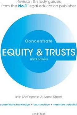 Equity & Trusts Concentrate