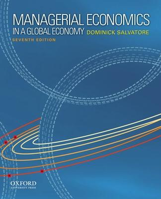 Managerial economics in a global economy dominick salvatore managerial economics in a global economy fandeluxe Image collections