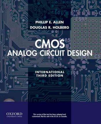 CMOS analog circuit design