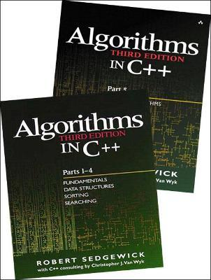 Bundle of Algorithms in C++, Parts 1-5 : Fundamentals, Data Structures, Sorting, Searching, and Graph Algorithms