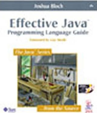 Effective Java (TM) Programming Language Guide with Java Class Libraries Posters