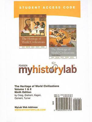 MyLab History -- Standalone Access Card -- for The Heritage of World Civilizations, Vols. 1 & 2