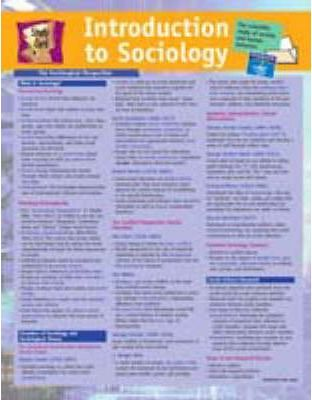 Study Card for Introduction to Sociology