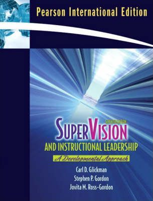 Supervision And Instructional Leadership Carl D Glickman
