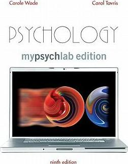Psychology, Mylab Edition Value Pack (Includes Concept Map Booklet for Psychology & Mypsychlab Pegasus with E-Book Student Access )