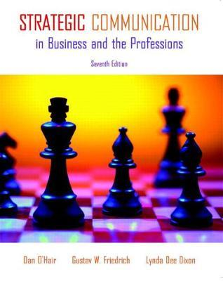 strategic communication in business and the professions pdf
