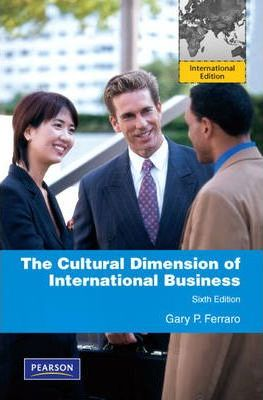 the cultural dimension of global business