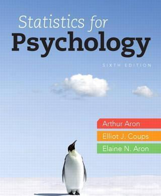 Statistics for Psychology Plus New MyStatLab with Etext -- Access Card Package