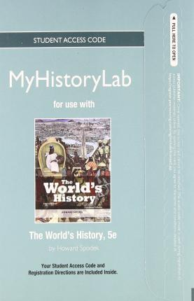 NEW MyHistoryLab without Pearson eText -- Standalone Access Card -- for The World's History, Combined Volume