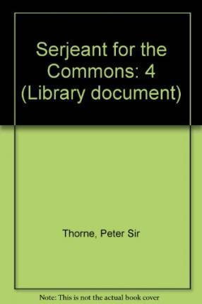 Serjeant for the Commons