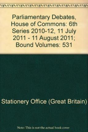 Parliamentary Debates, House of Commons