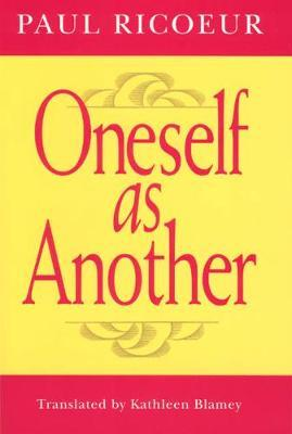 Oneself as Another