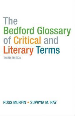 Glossary Of Literary Terms Book