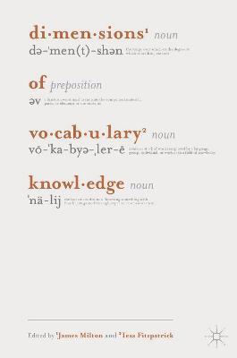 Dimensions of Vocabulary Knowledge
