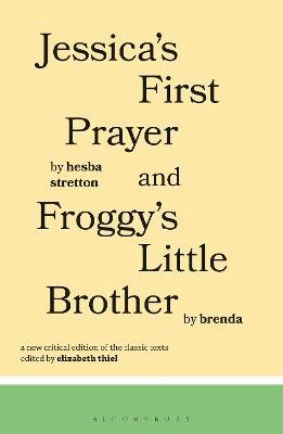 Jessica's First Prayer and Froggy's Little Brother Cover Image