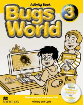 Bugs World 3 Activity Pack