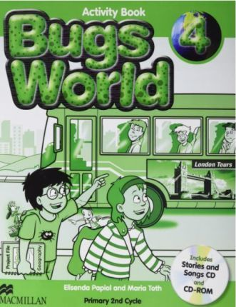 Bugs World 4 Activity Pack