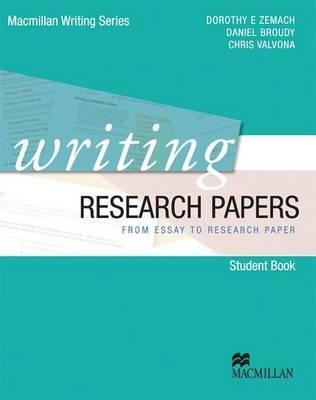 writing research papers from essay to research paper dorothy e  writing research papers from essay to research paper