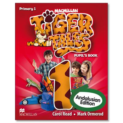 Tiger 1 PupilÂ's Book Andalusian edition