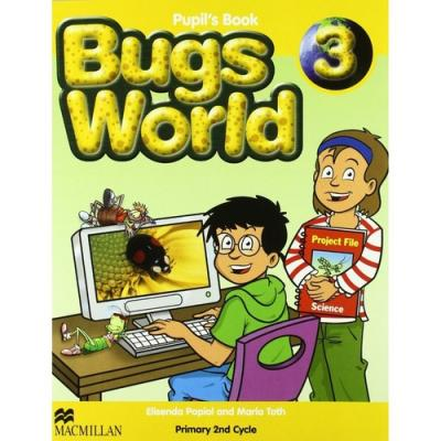 Bugs World 3 PupilÂ's Book