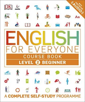 Astrosadventuresbookclub.com English for Everyone Course Book Level 2 Beginner : A Complete Self-Study Programme Image