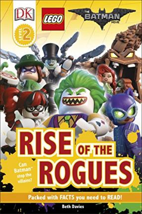 DK Reader Level 2: The LEGO (R) BATMAN MOVIE Rise of the Rogues