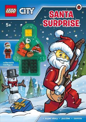 lego city santa surprise activity book lego city