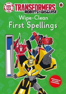 Transformers: Robots in Disguise - Wipe-Clean First Spellings
