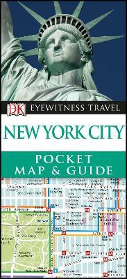DK Eyewitness New York City Pocket Map and Guide