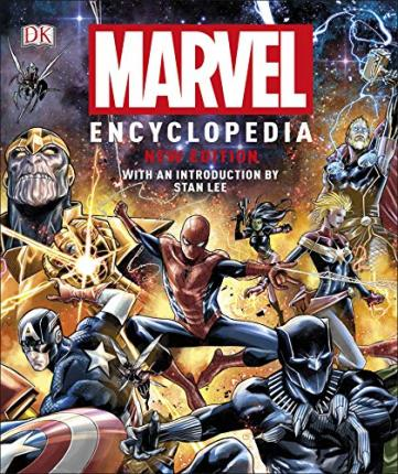 Marvel Encyclopedia New Edition Cover Image