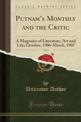 Putnam's Monthly and the Critic, Vol. 1