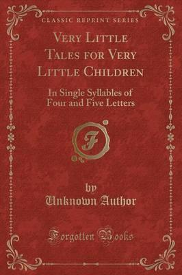 Very Little Tales for Very Little Children