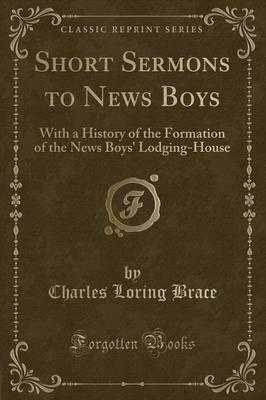 Short Sermons to News Boys