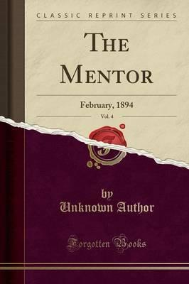 The Mentor, Vol. 4