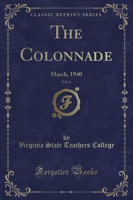 The Colonnade, Vol. 2