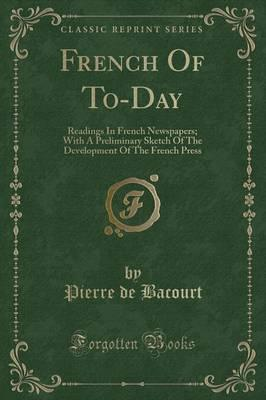 French of To-Day
