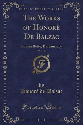 The Works of Honore de Balzac, Vol. 11