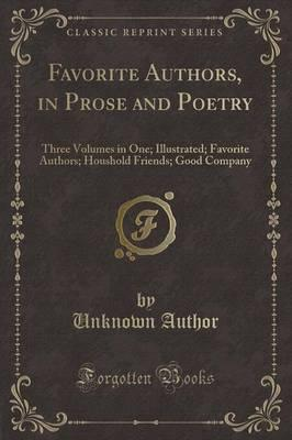 Favorite Authors, in Prose and Poetry
