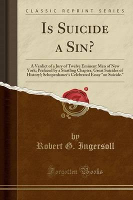 Is Suicide a Sin?