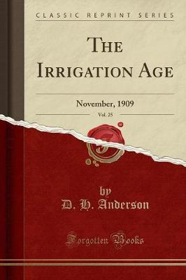 The Irrigation Age, Vol. 25