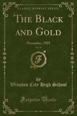 The Black and Gold, Vol. 15