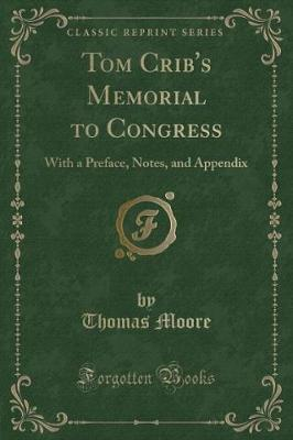 Tom Crib's Memorial to Congress