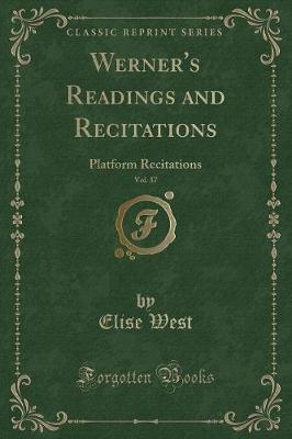 Werner's Readings and Recitations, Vol. 37