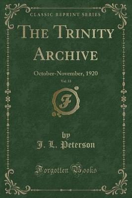 The Trinity Archive, Vol. 33