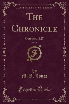 The Chronicle, Vol. 26