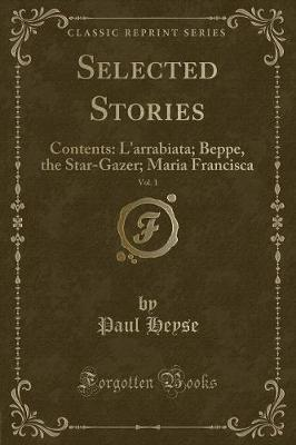 Selected Stories, Vol. 1