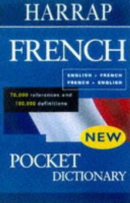 Harrap's Pocket French-English Dictionary