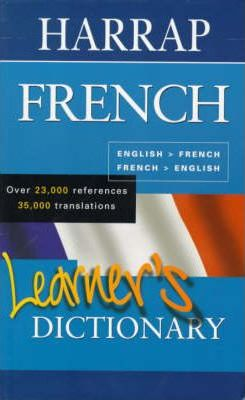 Harrap French Learner's Dictionary