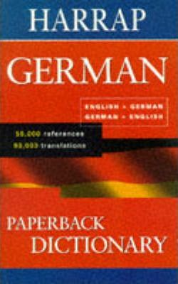 Harrap's Paperback German Dictionary